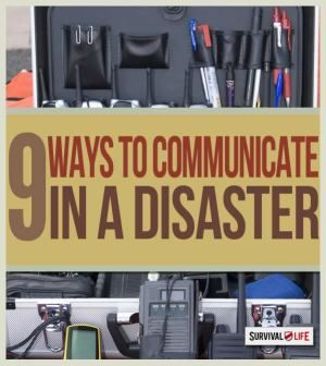 Disaster Communication for Preppers | Emergency preparedness tips at survivallife.com #emergencypreparedness #disasterpreparedness #survival