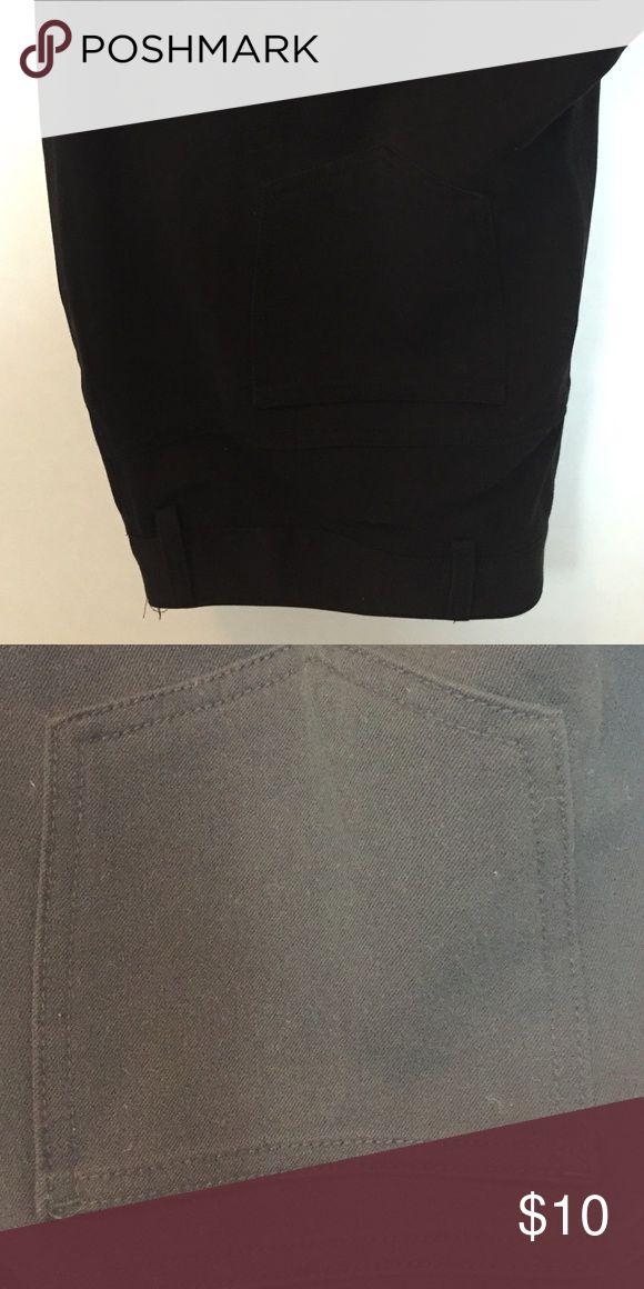 5 pocket black pants Poly blend fabric. Perfect for the office! Boot cut leg. Rafaella Pants Boot Cut & Flare