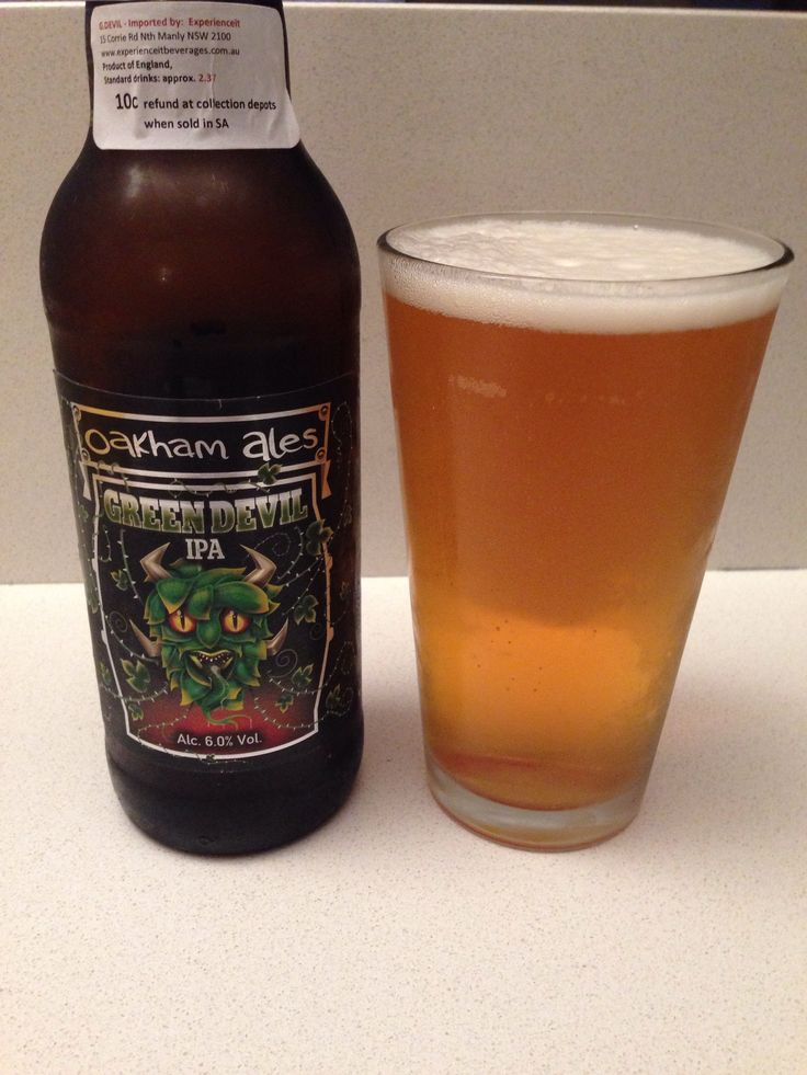 Oakham Ales (UK) Green Devil IPA