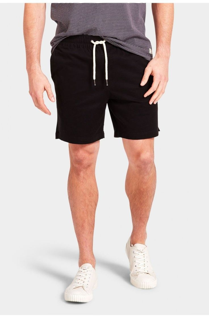 The Academy Brand - Volley Short - Black