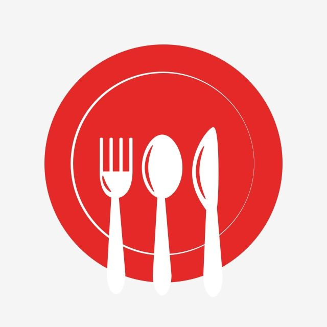 Fork Spoon Knife Plate Clipart Vector Png Element Fork Spoon Knife Png And Vector With Transparent Background For Free Download Spoon Knife Restaurant Icon Spoon