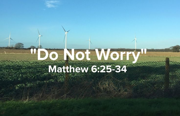 Dont worry GOD is mindful About you.
