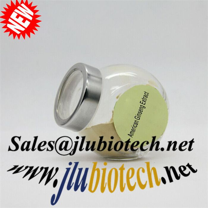 Factory Natural American Ginseng Extract Powder sales@jlubiotech.net