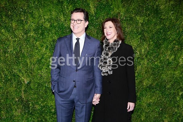 Stephen Colbert at theThe Museum of Modern Art Film Benefit: A Tribute to Tom Hanks at The Museum of Modern Art on November 15, 2016 in New York City. (Photo by Gonzalo Marroquin/Patrick McMullan via Getty Images)