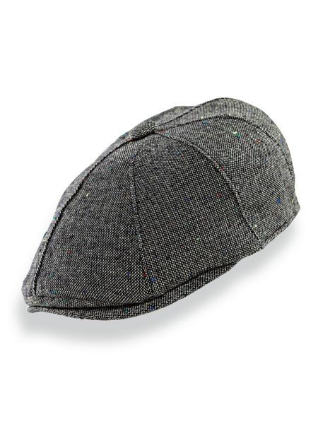 Stetson® Donegal Newsboy Cap - <p> Since 1865, Stetson® hats have been a hallmark of quality, durability and style.  is wool-blend tweed cap is no exception. Eight-quarters,