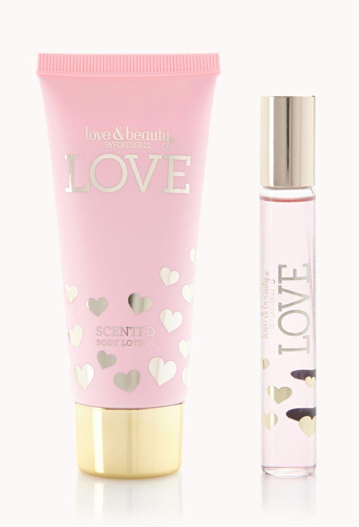 Mini Love Perfume Set   FOREVER21