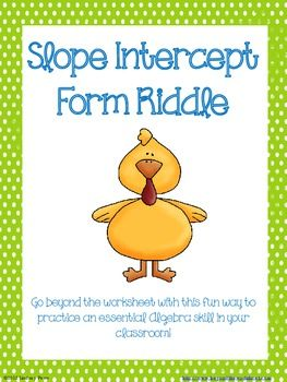 math worksheet : 1000 images about math worksheets 2 on pinterest  algebra  : Slope Math Worksheets