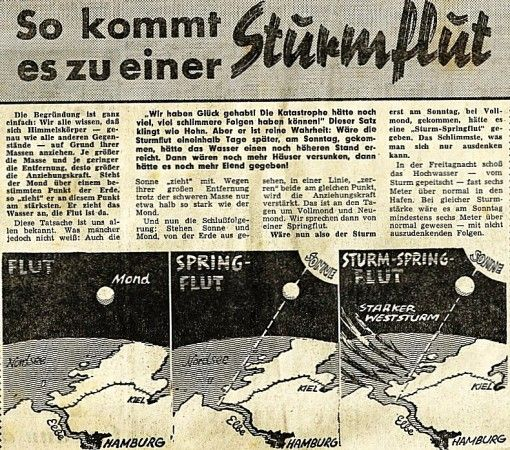 bilder sturmflut in hamburg | Förderverein Baljer Leuchtturm v.1904 e.V. - Sturmflut 1962