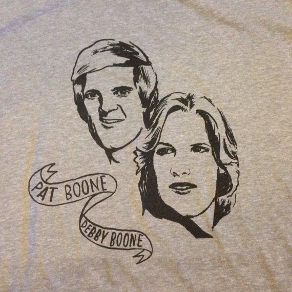 Drum fill Pat Boone Debby Boone tshirt by McPhersonGoods on Etsy