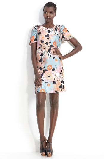 See by Chloé: Prints Dresses, Free Dresses, See By Chloe, Woman Dresses, Bows Rooms, Bees Free, Chloé Bees, Chloe Sheath, Chloe Bees