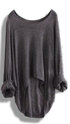 Loose Asymmetric Sweater
