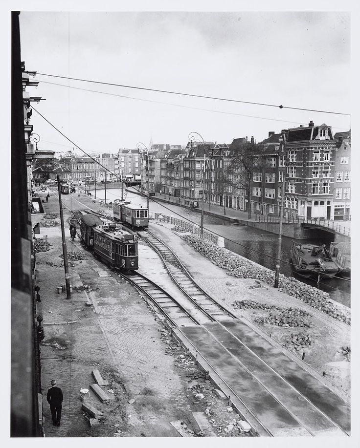 Marnixstraat. 1950.