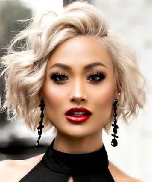 Lässige BOB-frisuren! Schöne kurze BOB-Frisuren im 'Shaggy' Look! – Jessica Lopez