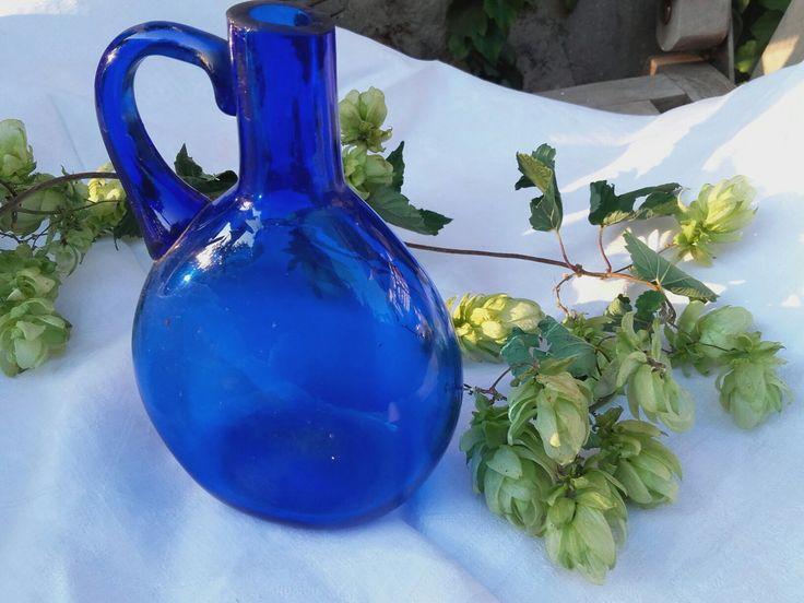 Annzschkavintage.de Blue glas