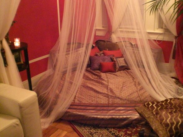 Moroccan Canopy Bed 61 best indian inspired bedroom images on pinterest | 3/4 beds