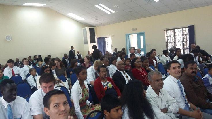 La Conférence de District Maurice/Réunion de l'Eglise de Jésus Christ des Saints des Derniers Jours a eu lieu à la Chapelle de Rose-Hill, Ile Maurice.