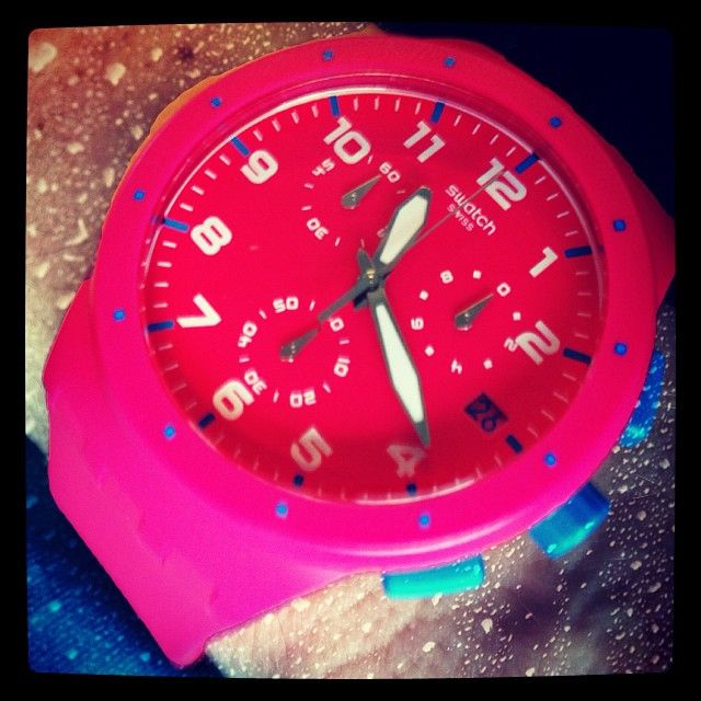 #Swatch: Ticking Tok, Bdohner Bettina, Layr App, Layrsapp Layr, Swatch Pink, Switzerland Create, Pink Switzerland, Instagram Photo, App Layrsapp