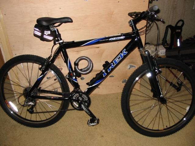 2003 Trek 4900 alpha (hard tail mountain bike). One of the last American made bikes by Trek