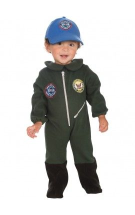 disfraz de top gun para beb