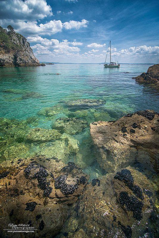 L'Ile de Vierge près de Crozon ~ Finistére Bretagne, France
