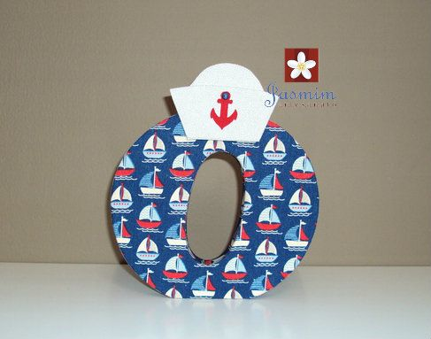 #marinheiro #temamarinheiro #navio #letra #letraparabebe #decoracao #decoracaoinfantil #quartodemenino #decoracaoazul #nomedobebe #jasmimartesanato #riodejaneiro