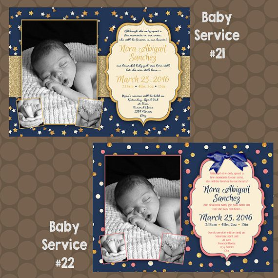 Birth Announcement Information
