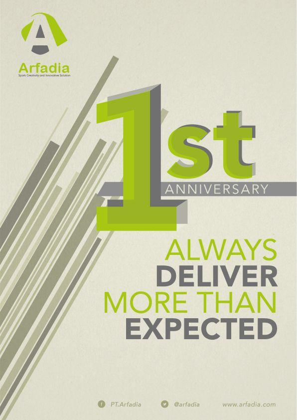 PT.Arfadia 1st Anniversary