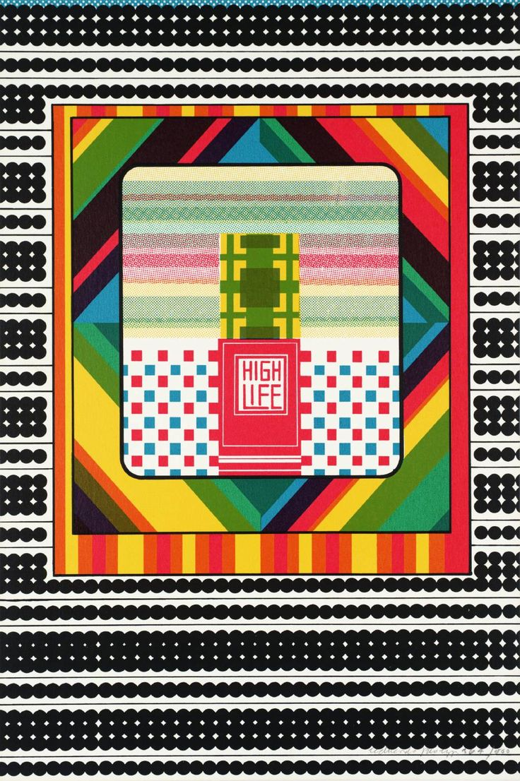 Sir Eduardo Paolozzi 'High Life', 1967 © The Eduardo Paolozzi Foundation
