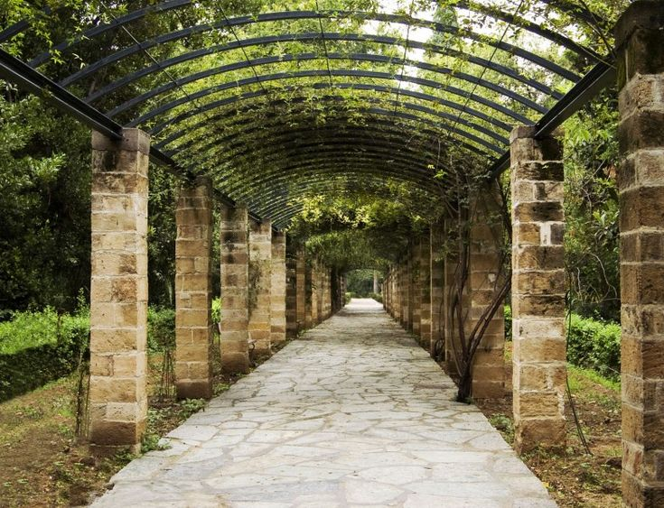 Pergola in the National Garden, Athens