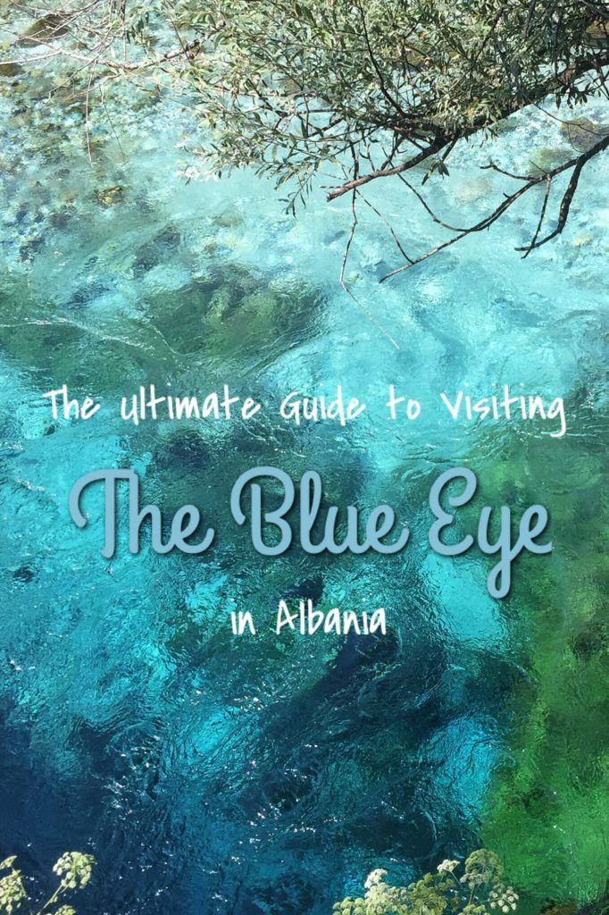 The Blue Eye (aka Syri I Kalter) in Albania is one of the country's many natural…