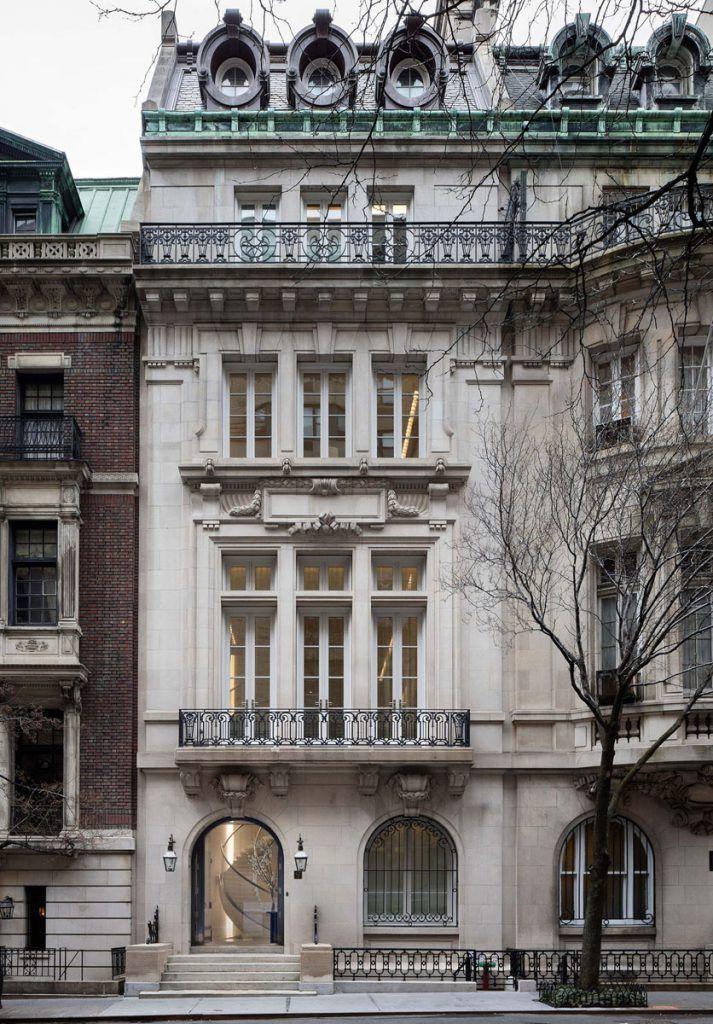 Timeless Manhattan Townhouse In A Landmarked Limestone Building