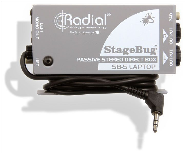 Radial Stagebug Sb 5 Laptop Compact Stereo Di For Computers With Andertons Music Co Laptop Laptop Computers Engineering