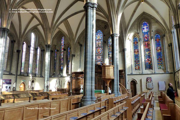 Temple Church - The Cancel *** Temple Church, a Londra la chiesa dei Templari *** #Londra #London #TempleChurch