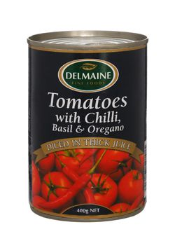 Delmaine Tomatoes with Chilli
