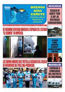 buenosdiascanete.blogspot.com: DIARIO DIGITAL BUENOS DIAS CAÑETE, EDICIÓN MARTES ...