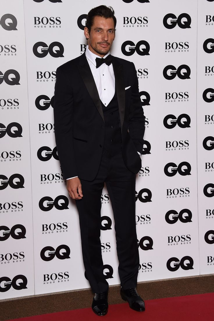 Demonstrating A Proper Black Tie, Savile Row Connoisseur David Gandy Is  Your Goto