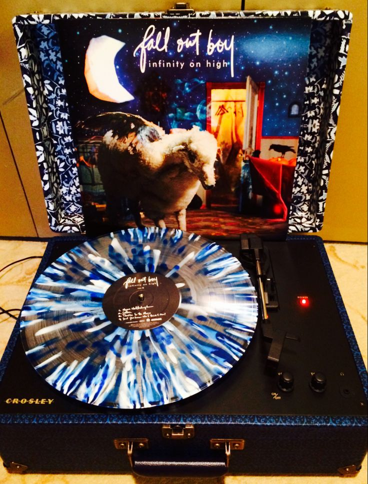 Fall Out Boy Vinyl - Infinity On High