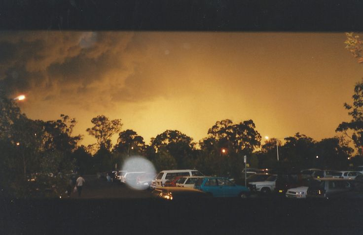 The calm before the storm. Sydney Summer 2000.