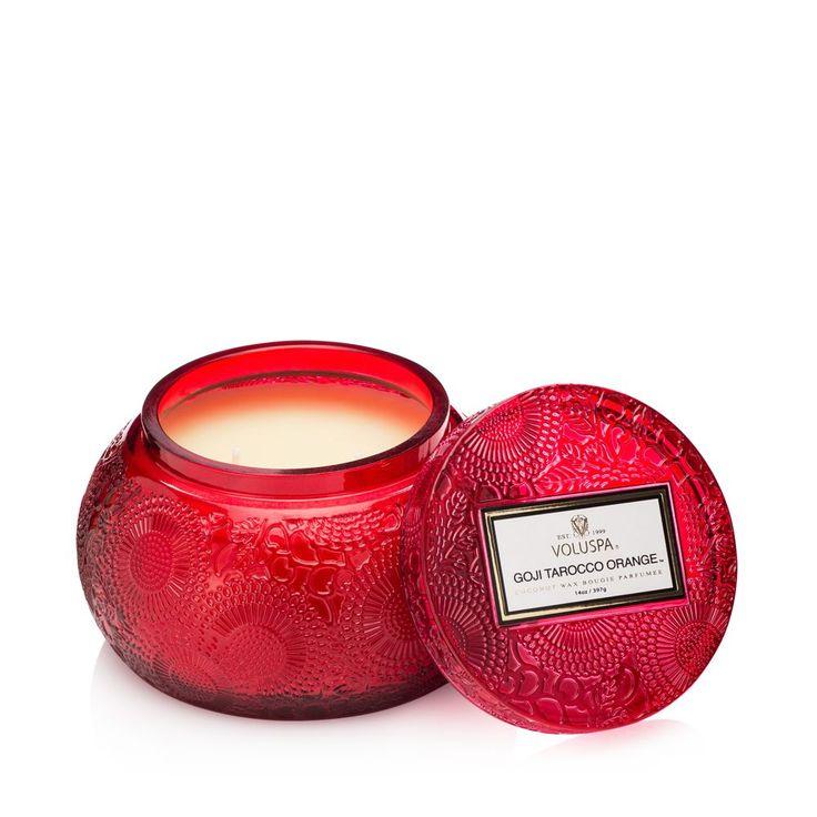 Voluspa Japonica Limited Goji & Tarocco Orange Candle with Lid