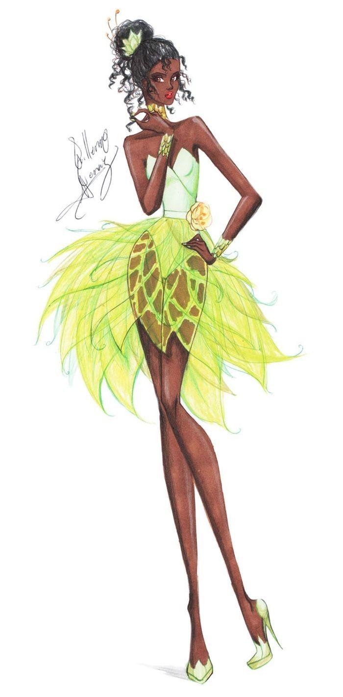 Croquis são desenhos de moda, aqueles que parecem um rascunho do que vai se tornar uma roupa. Eu já mostrei a mistura desses desenhos com Disney nos post Desfile de moda Disneye Ilustrações de moda da Disney. Dessa vez, quem se aventurou a redesenhar as princesas de forma mais fashion foi Guillermo Meraz, um estilista mexicano. Apesar de na teoria serem esboços, as ilustrações do artista são trabalhos lindos e...