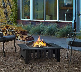 Your Patio Just Got So Much Cozier! Heu0027ll Love This Wood Burning