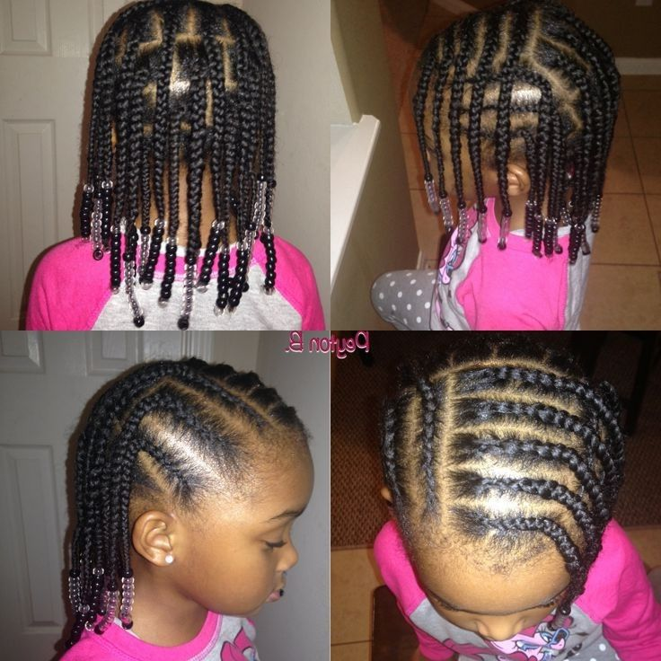 Astounding 1000 Images About Kids Braid Hairstyles On Pinterest Protective Short Hairstyles For Black Women Fulllsitofus