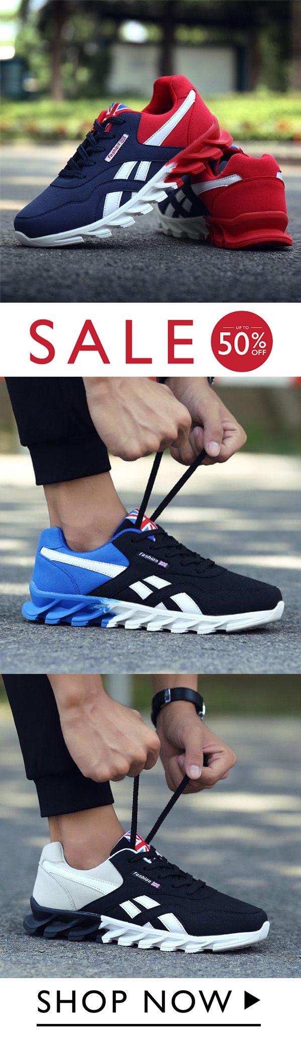 Mens Athletic Running Tennis Gym Sneakers