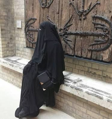 Image result for fully veiled niqab