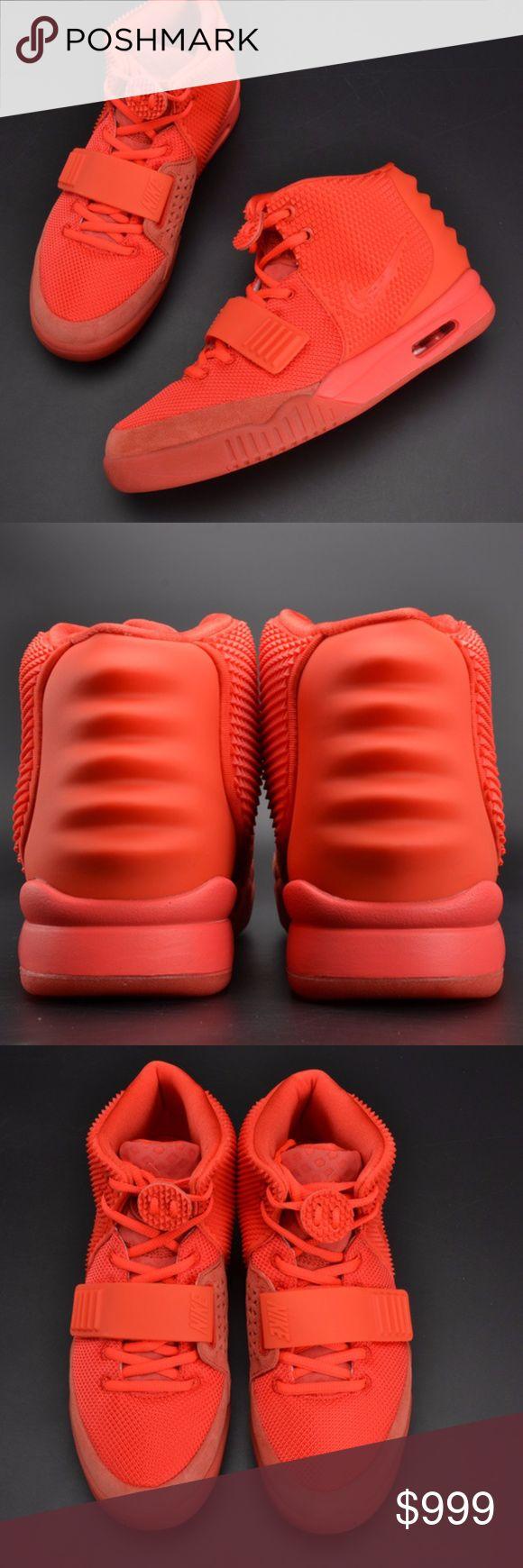 Nike Air Yeezy 2 Red October Nike Air Yeezy 2 Red October Nike Shoes Sneakers