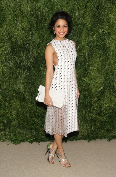 Actress Vanessa Hudgens attends CFDA and Vogue 2013 Fashion Fund Finalists Celebration at Spring Studios on November 11, 2013 in New York Ci...