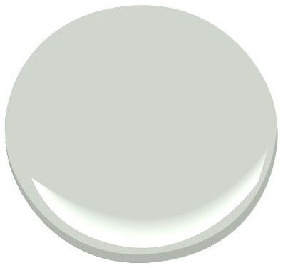 "Gray Cashmere"" by Benjamin Moore ...soothing; not blue, green, or gray but all of the above."