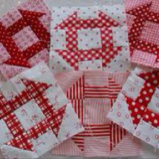Churn Dash quilt block Love the old fashioned blocks <3