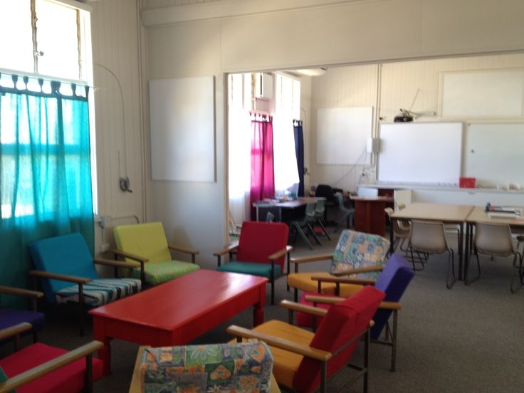 Our new staff room.