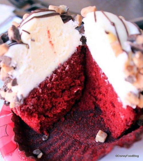 Red Velvet Cheesecake Cupcake- Starring Rolls Cafe- Studios
